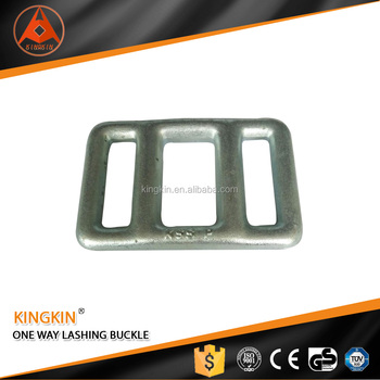zinc plated strapping buckle adjustable lashing buckle for one way lashing strap