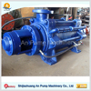 Low power consumption multistage (boiler water supply) pump