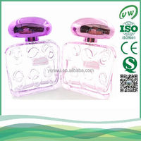 115ml 2016 latest style lady fancy glass perfume bottle