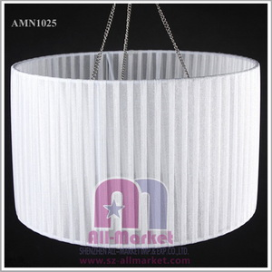 wholesale round white lampshade fabric