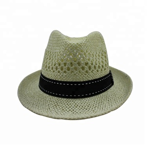 Fashion Paper Straw Fedora Hat Wholesale f61ede6ad219