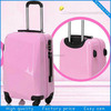 2014 Fashion Design and Colorful Transparent Clear Super Light Four Wheels ABS travel luggage