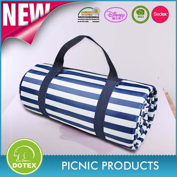 SEDEX and BSCI Factory Free Sample Availabel package picnic blanket / picnic rug