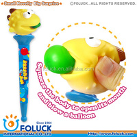 Plastic Novelty My Puffie Pen With Balloon - Ocean Series