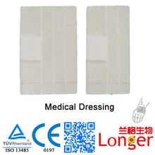Disposable Medical Dressing for Infusion Solutions.