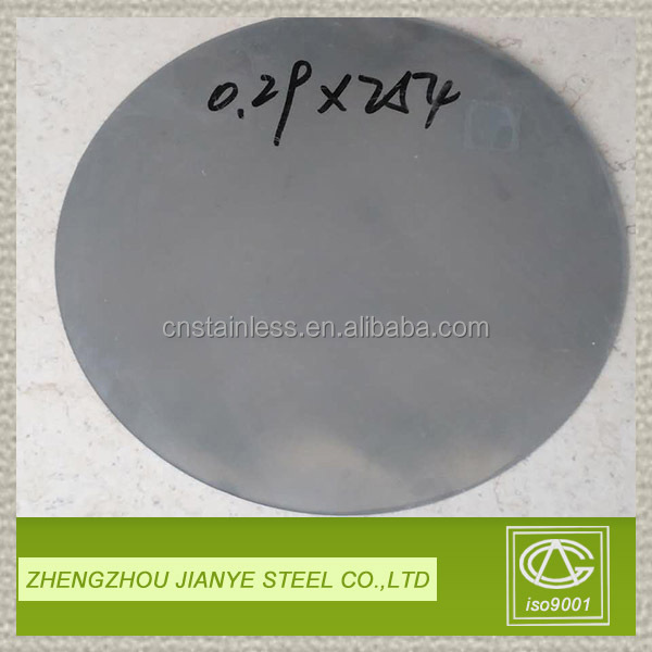 factory supply high quality aisi 430 stainless steel circle