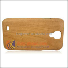 natural Cherrywood Wooden Case For Samsung S4/I9500