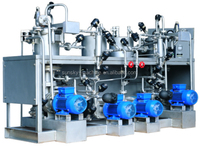 Eco friendly dyeing/Continuous Textile Relaxing Machines