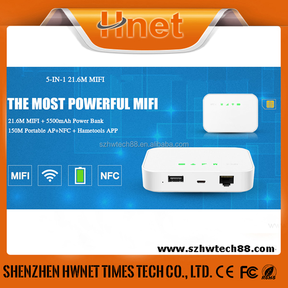 mini 3g wifi router wlan mobile Router Multiple SD Cards Handheld router power bank