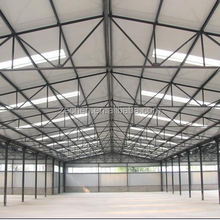 steel structure for hangar with crane