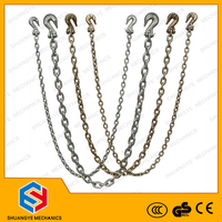 Loading G80 chain, stainless steel lifting chain, industrial roller golden chain 6mm,7.1mm,8mm,9mm,10mm,12mm,13mm