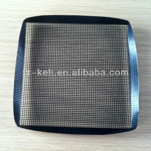 PTFE coated fiberglass Non-stick BBQ Grill Mesh Cooking Basket for barbeque, oven, microwave