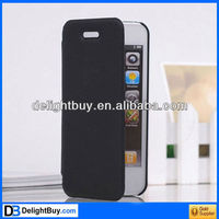 PU Protective Great Line Pattern Leather Case Cover for iPhone 5