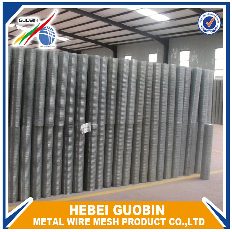 Small hole 3/8 inch galvanized welded wire mesh