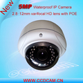 Hot New Products for 2016 5MP POE Camera Varifocal Lens Waterproof Bullet Onvif P2P Network 5 Megapixel IP Camera Outdoor