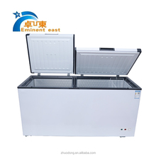 800L High quality household chest freezer stainless steel deep freezer Horizontal kitchen appliance freezer
