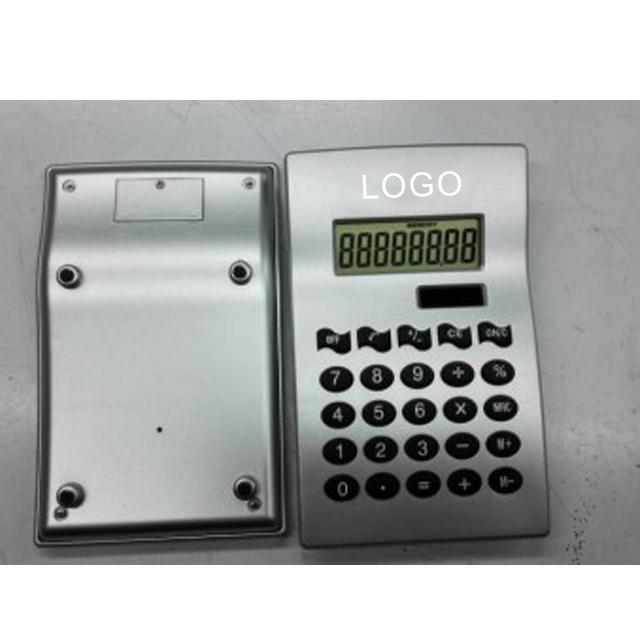8 digit double power solar desktop electronic calculator