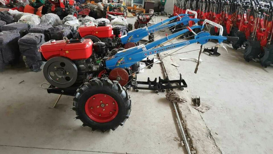 Lisheng brand hand/walking tractor sale in india