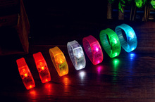 Motion Activated Bracelet With Led Light For Promotional Gift, Night Club, Pubs, Concert, Holidays, Night Racing Or Party Usage