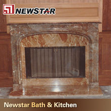 Natural Stone Granite Fireplace Hearth Slab