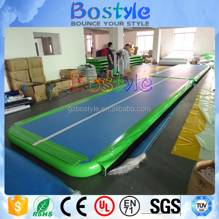 Alibaba wholesale inflatable air track gymnastics
