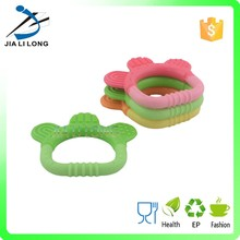 Hot sale durable silicone baby toothbrush teether