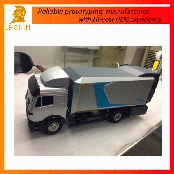 Legion top quality cnc car/truck model and spare parts/accessories rapid prototypes