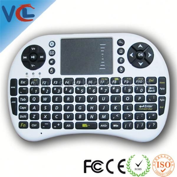 2.4G new gadget 2014 keyboard and touch mouse