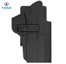 2018 Newest Tactical Pistol Polymer Holster for S&W M&P 9mm with open type belt clip