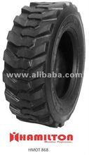 Bob cart , skid steer tyre 10-16.5 12-16.5 Heavy Duty Tires. Robust in Design. NYLON Ply. Tubeless and Tube Type.