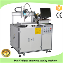 Window XP operation 3 axis control automatic dispensing robot/resin glue potting machine/LCD screen potting equipment