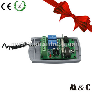 MC402PC-V2.0 Unique design digital remote control switch