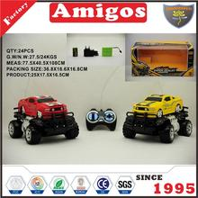 plastic 4 channel rc buggy car truck radio control off road vehicle toy
