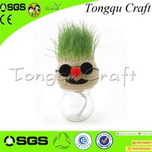 New Product soccer grass artificial Interior Decoration astro turf grass , grass pen holder