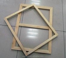 stretched canvas inner wooden frame