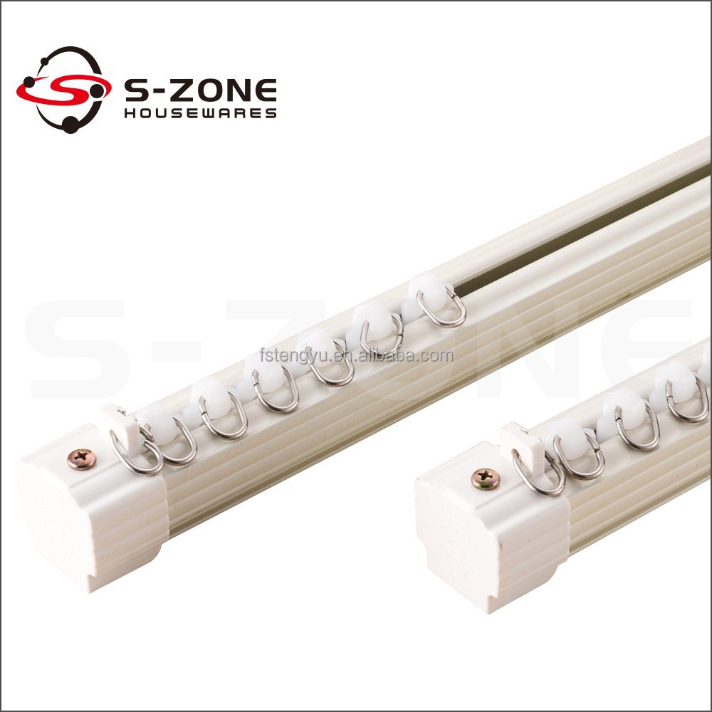 Heavy Duty High Quality Curtain Track Runner Wheel And Rail
