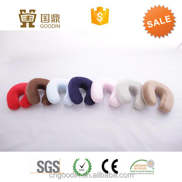 MEMORY FOAM TRAVEL NECK PILLOW DISPOSABLE NECK PILLOW COVER