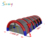 Inflatable paintball air tent 30x15 shelter for paintball game