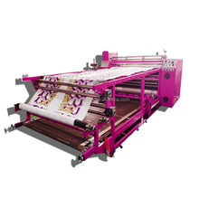 2016 Hot sale competitive price roller sublimation printing cheap used t shirt press heat transfer machine
