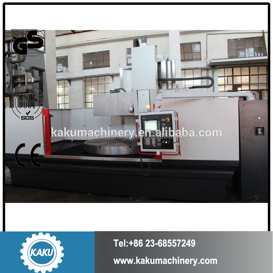 CK51 Series CNC vertical turning and milling machine with single spindle VTL lathe machine