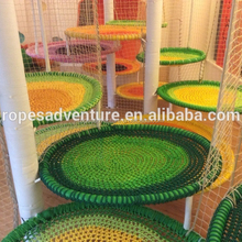 amusement kiddie rides colorful playground spider web playground equipment