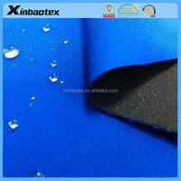 hot-sale fabric:four way stretch fabric bonded with single interlock fabric