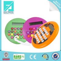 Fupu colorful 8 digit electronic calculator for promotion