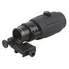 Vector Optics Rubber Armored Tactical 4x Red Dot Magnifier for AR15 with Flip to Side QD Mount 30MM Tube