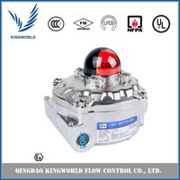 YTC Limit Switch Box Explosion Proof Compatibility with Any Rotary Motion Actuator