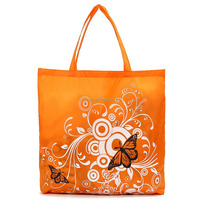 China Supplier Yellow Color Print Shopping Bag/Non-Woven Tote Shopping Bag