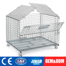 folding steel storage cage