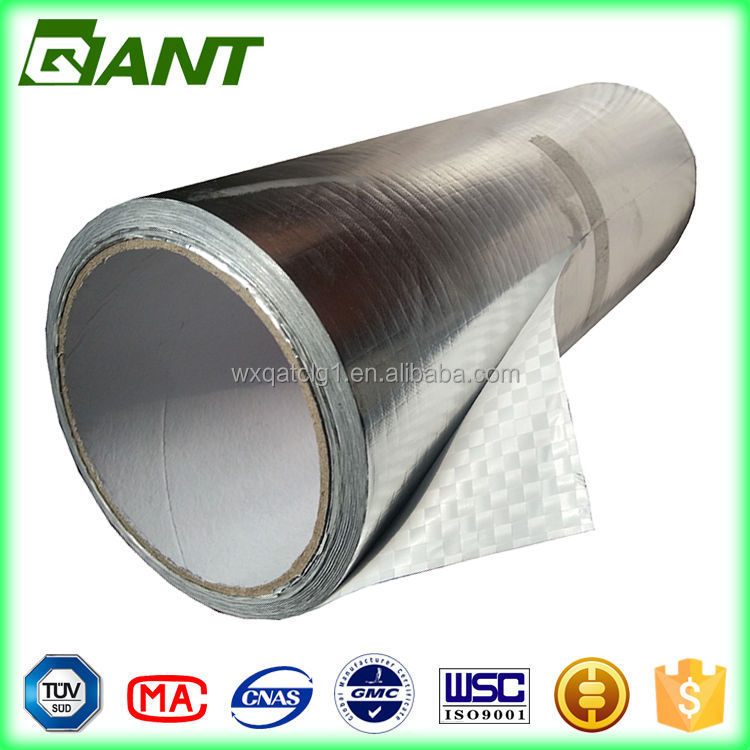 water proof aluminum foil car roof insulation materials heat resist