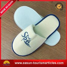 travel slippers aviation plush airline airplane slipper for adults hot wholesales