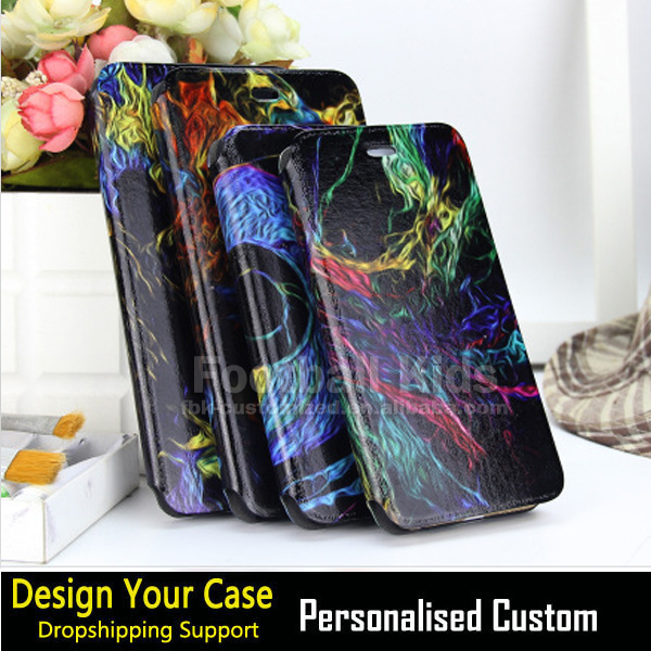PU Leather printing flip custom design phone cover case for Samsung S5 ,for Samsung S5 pu leather custom cover case